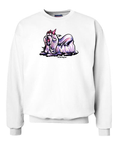 Maltese - Cool Dog - Sweatshirt