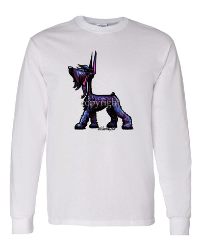 Giant Schnauzer - Cool Dog - Long Sleeve T-Shirt