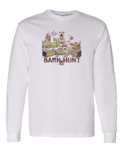 Soft Coated Wheaten - Barnhunt - Long Sleeve T-Shirt