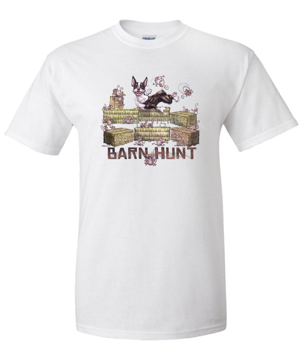 Boston Terrier - Barnhunt - T-Shirt