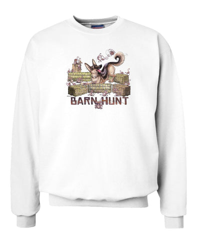 German Shepherd - Barnhunt - Sweatshirt