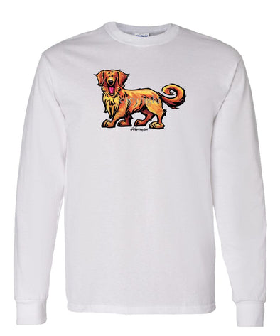 Golden Retriever - Cool Dog - Long Sleeve T-Shirt
