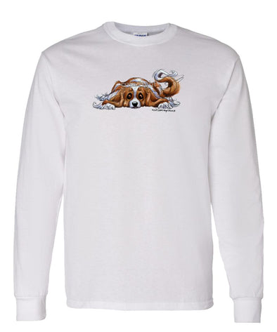Cavalier King Charles - Rug Dog - Long Sleeve T-Shirt