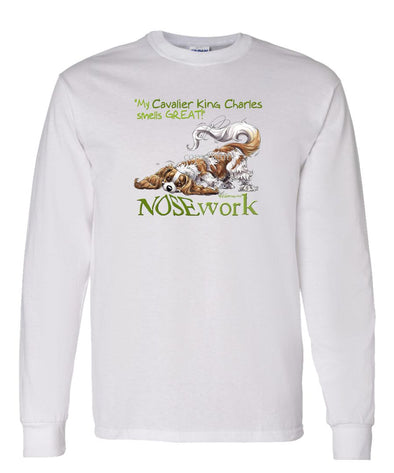 Cavalier King Charles - Nosework - Long Sleeve T-Shirt