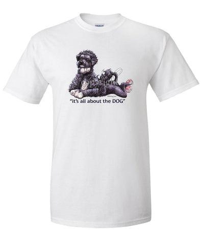 Portuguese Water Dog - All About The Dog - T-Shirt