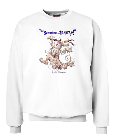 Afghan Hound - Treats - Sweatshirt