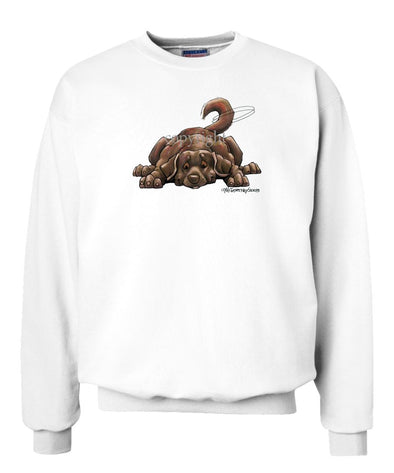 Labrador Retriever  Chocolate - Rug Dog - Sweatshirt