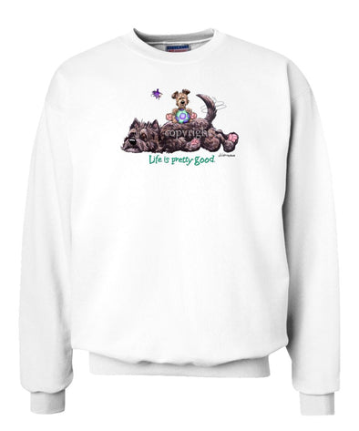 Cairn Terrier - Life Is Pretty Good - Sweatshirt