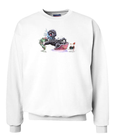 Portuguese Water Dog - Fish Squirting - Mike's Faves - Sweatshirt