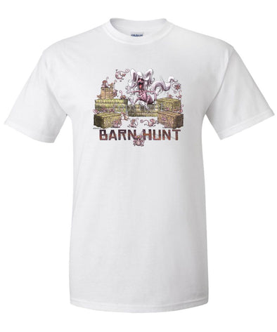 Chinese Crested - Barnhunt - T-Shirt