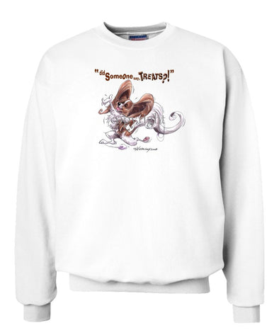 Papillon - Treats - Sweatshirt