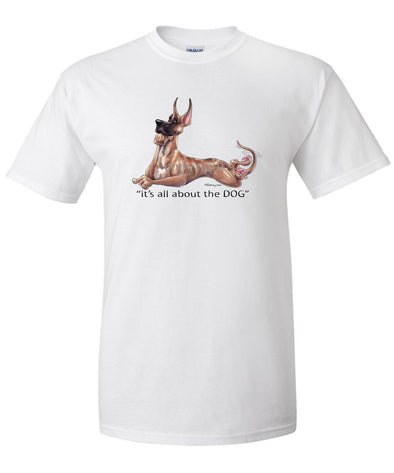 Great Dane - All About The Dog - T-Shirt