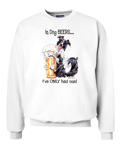 Border Collie - Dog Beers - Sweatshirt