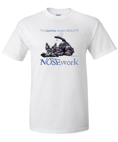 Scottish Terrier - Nosework - T-Shirt