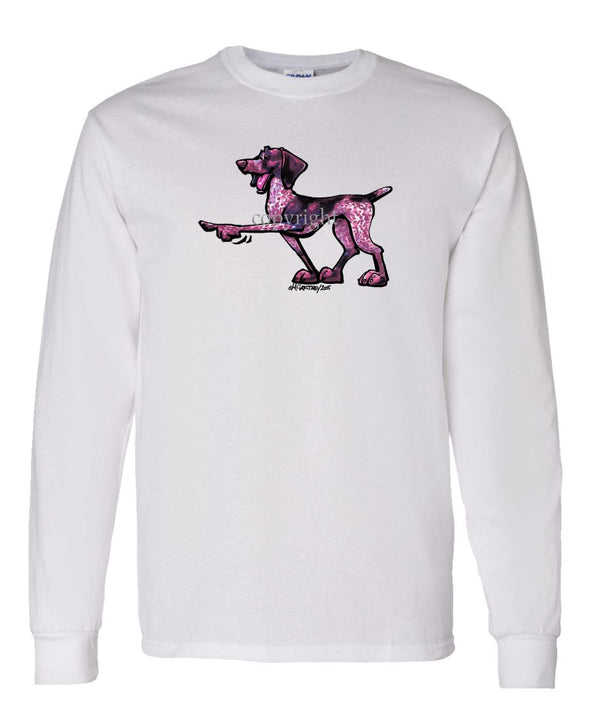 German Shorthaired Pointer - Cool Dog - Long Sleeve T-Shirt