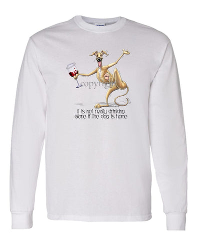 Greyhound - It's Drinking Alone 2 - Long Sleeve T-Shirt