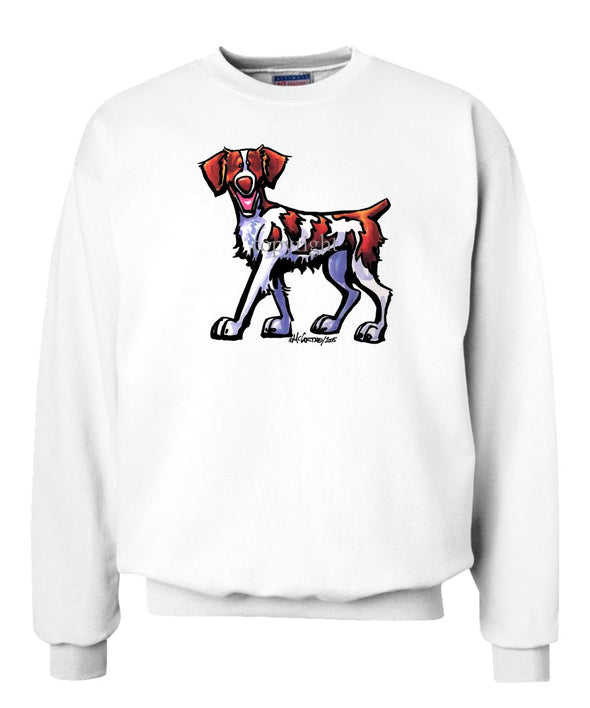 Brittany - Cool Dog - Sweatshirt