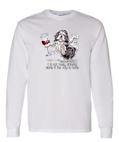 Havanese - It's Drinking Alone 2 - Long Sleeve T-Shirt