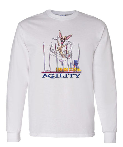 Chihuahua  Smooth - Agility Weave II - Long Sleeve T-Shirt