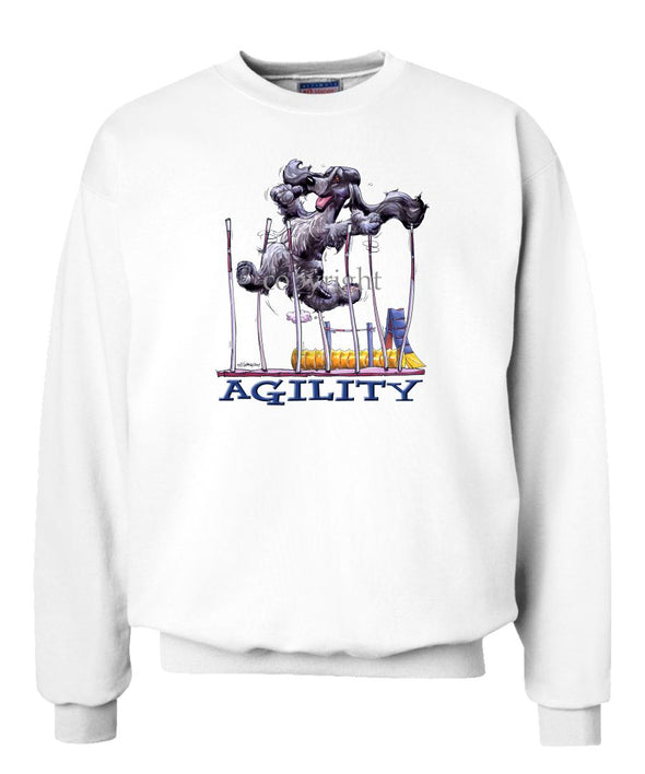 English Cocker Spaniel - Agility Weave II - Sweatshirt