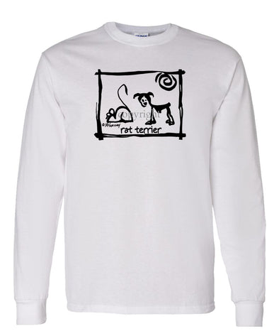 Rat Terrier - Cavern Canine - Long Sleeve T-Shirt