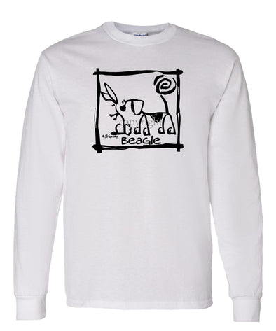 Beagle - Cavern Canine - Long Sleeve T-Shirt