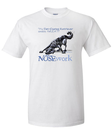 Flat Coated Retriever - Nosework - T-Shirt