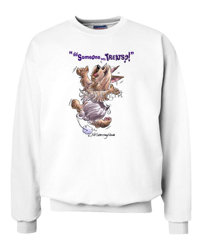 Silky Terrier - Treats - Sweatshirt
