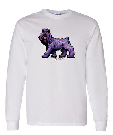 Bouvier Des Flandres - Cool Dog - Long Sleeve T-Shirt