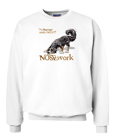 Bernese Mountain Dog - Nosework - Sweatshirt