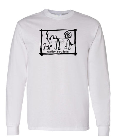 Golden Retriever - Cavern Canine - Long Sleeve T-Shirt