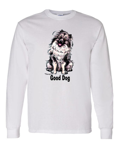 Keeshond - Good Dog - Long Sleeve T-Shirt