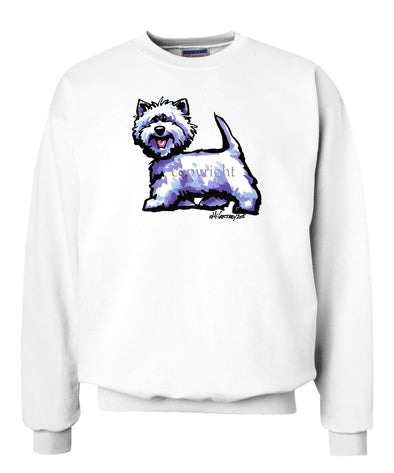 West Highland Terrier - Cool Dog - Sweatshirt