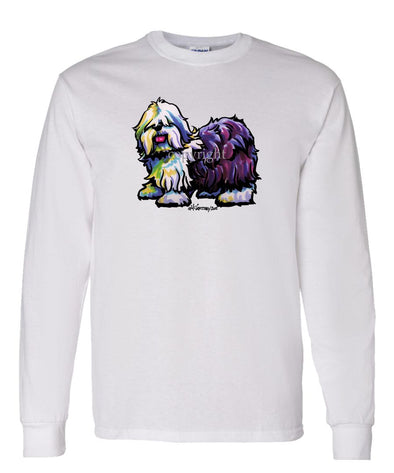 Old English Sheepdog - Cool Dog - Long Sleeve T-Shirt