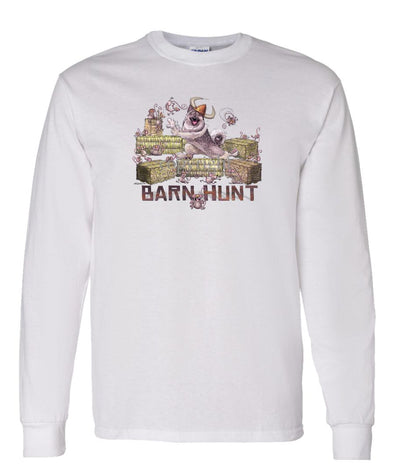 Norwegian Elkhound - Barnhunt - Long Sleeve T-Shirt