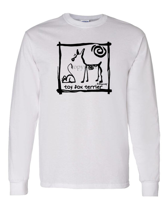 Toy Fox Terrier - Cavern Canine - Long Sleeve T-Shirt