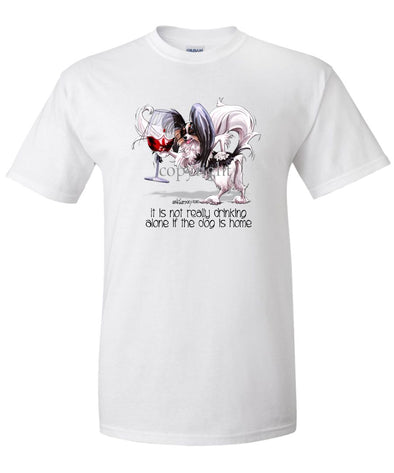 Papillon - It's Not Drinking Alone - T-Shirt