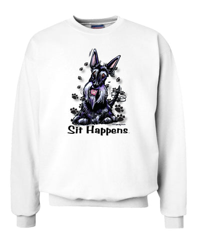 Scottish Terrier - Sit Happens - Sweatshirt