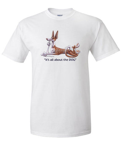 Ibizan Hound - All About The Dog - T-Shirt