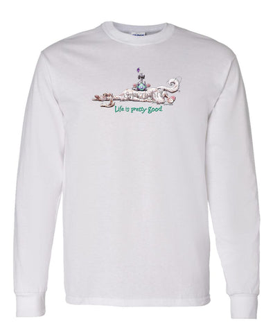 English Setter - Life Is Pretty Good - Long Sleeve T-Shirt