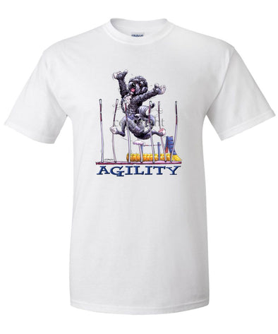 Portuguese Water Dog - Agility Weave II - T-Shirt