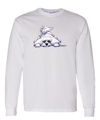 Bichon Frise - Rug Dog - Long Sleeve T-Shirt