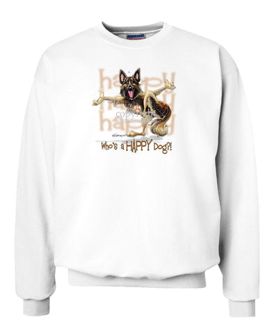 Belgian Tervuren - Who's A Happy Dog - Sweatshirt
