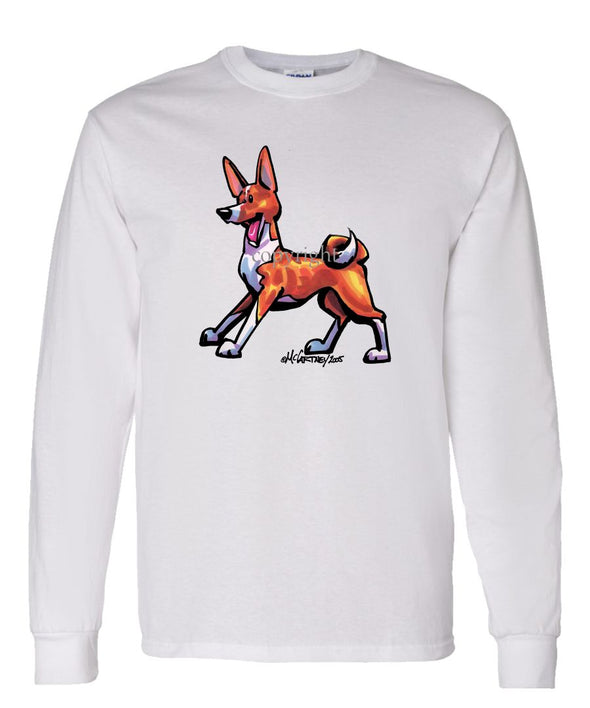 Basenji - Cool Dog - Long Sleeve T-Shirt