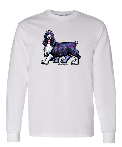 English Springer Spaniel - Cool Dog - Long Sleeve T-Shirt