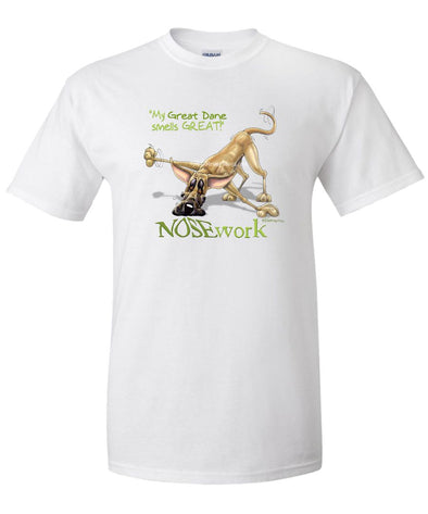 Great Dane - Nosework - T-Shirt