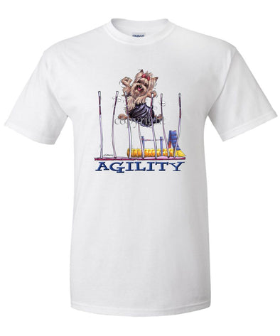 Yorkshire Terrier - Agility Weave II - T-Shirt