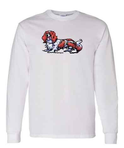 Cavalier King Charles - Cool Dog - Long Sleeve T-Shirt