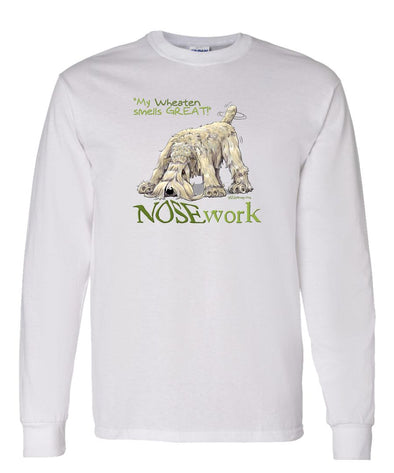 Soft Coated Wheaten - Nosework - Long Sleeve T-Shirt