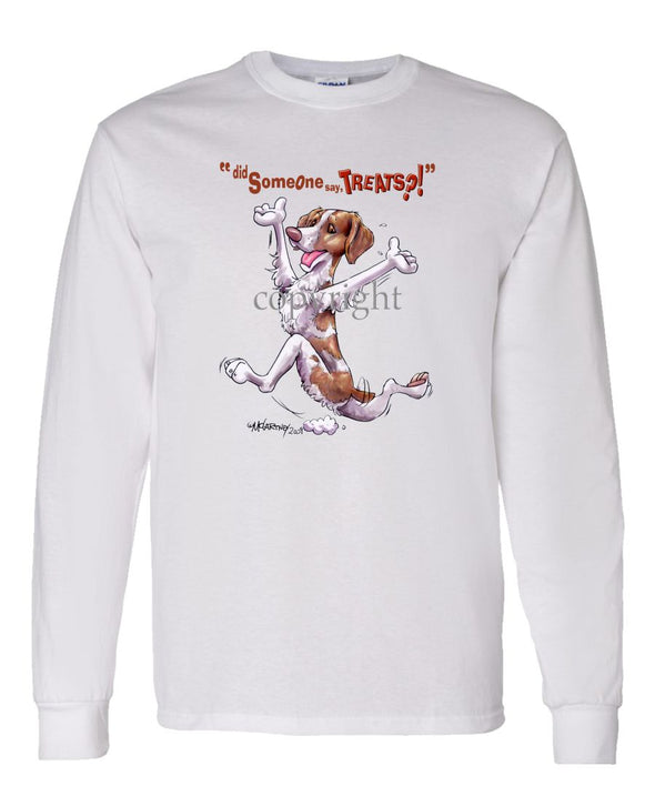 Brittany - Treats - Long Sleeve T-Shirt